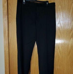 Men's Express Black Straight leg dress pants